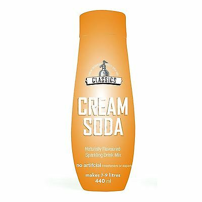 Sodastream Cream Soda Flavour 440ml Sparkling Water Home Drink Mix Syrup