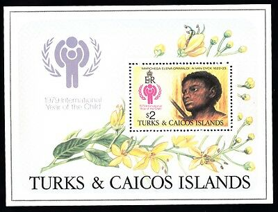 Turks & Caicos Islands - 1979 Int. Year Of The Child - Foglioetto Nuovo - FM148