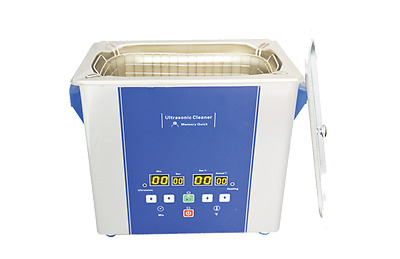 Eumax Ultrasonic Cleaner 4L Stainless Steel Touch control Jewellery, PCB Optical