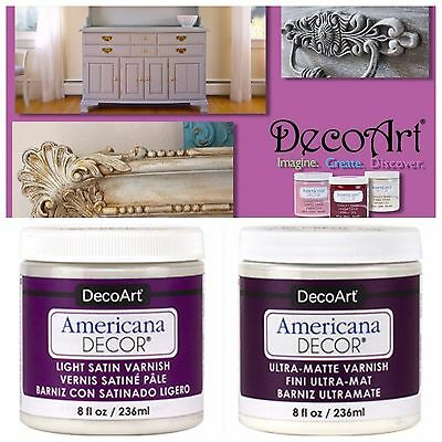 Varnish Finish for Chalk Paint by Americana Decor