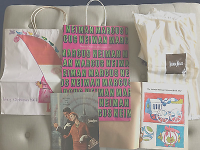 Vintage Neiman Marcus Christmas Catalogs and Bags