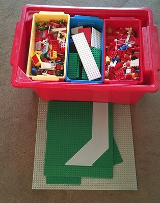 Job Lot Of Over 2600 (5 KG)Lego Pieces Includes Storage Boxes & Build Booklets