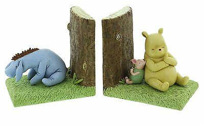 Disney - Classic Pooh Heritage - Bookends (Pooh, Piglet and Eeyore)