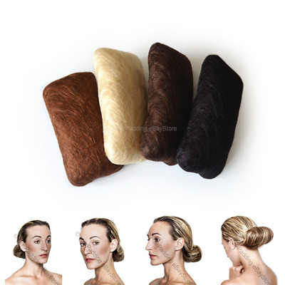 Hair padding Blonde,Blk,Brown for hair styles bridal parties! Hair exten! Volume