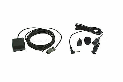 Gps Antenna & Mic For Kenwood Dnx-5080Ex Dnx-890Hd Ships Today*