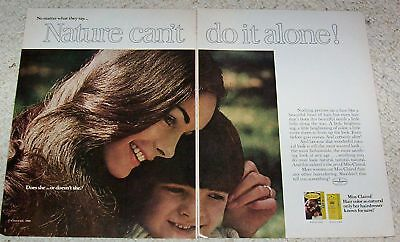 1970 vintage ad - Miss Clairol hair color Pretty lady PRINT Advertising page