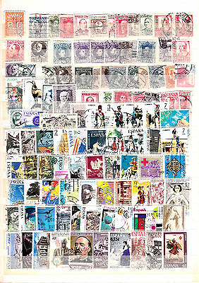 Spain Collection Of Used Stamps Lot 16