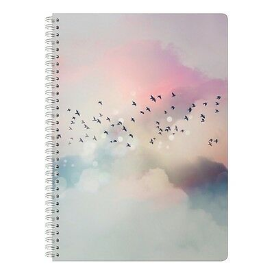 Clairefontaine : Chacha - Cahier Siprales A4 - 148 pages Lignées - Oiseaux