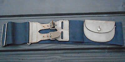 Vintage BOY SCOUT Belt & Leather Strap