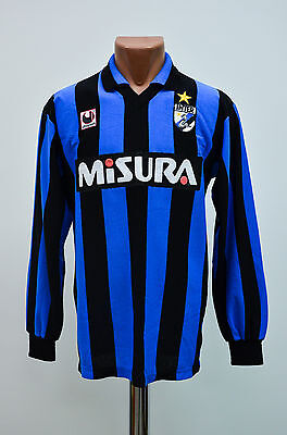 Inter Milan Internazionale 1988/1989 Home Football Shirt Jersey Maglia Uhlsport