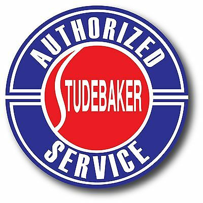 Studebaker Authorized Service Super High Gloss Outdoor 4 Inch Decal Sticker