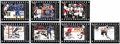 2015-16 UD TIM HORTONS SEASON'S HIGHLIGHTS COMPLETE 7 CARD INSERT SET LOT Price