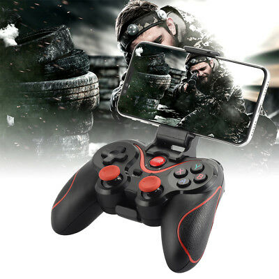Wireless Bluetooth Gamepad Game Controller+Bracket for Android Smartphone BC653