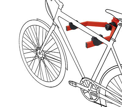 Support vélo ajustable, support mural pour accrochage horizontal - charge maxim