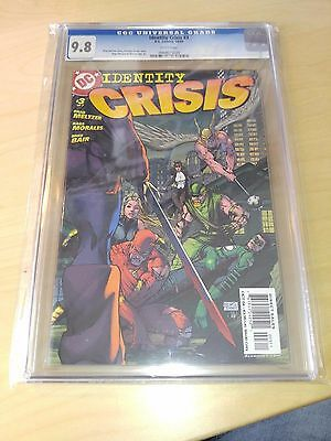 2004 Identity Crisis 3 Cgc 9.8 Deathstroke Defeats Jla Michael Turner Cover