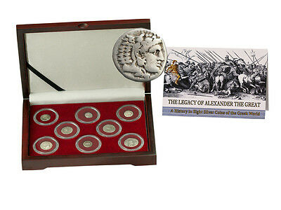 The Legacy of Alexander the Great A History in 8 Silver Coins of the Greek World