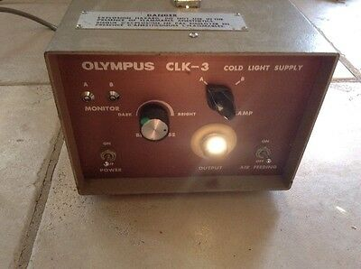Olympus Clk-3 Cold Light Supply Source