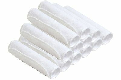 Premium Bamboo Baby Washcloths Baby Wipes 12 pack Super Soft & Absorbent White