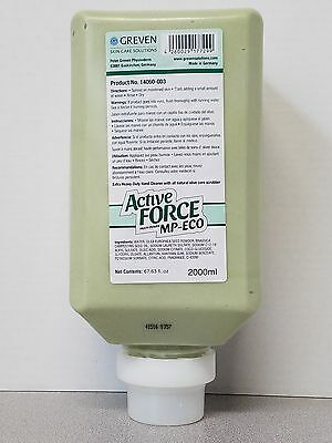 Greven Active Force MP-ECO Extra Heavy Duty Hand Cleaner, 2000 ml