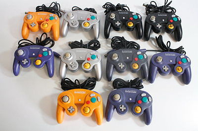 WHOLESALE Lot of 10 Official Nintendo Gamecube Controller DOL-003 Wii UNTESTED 1