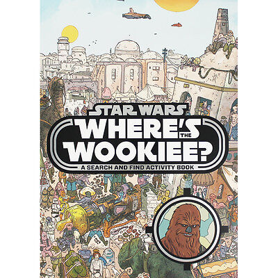 Star Wars - Wheres The Wookie (Paperback), Children's Books, Brand New