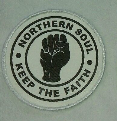 Northern Soul Patch Sew On Patch Badge Free Postage