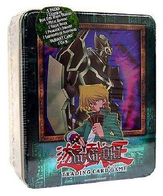 YuGiOH - GEARFRIED THE IRON KNIGHT TIN - 2003 New Sealed w/ 5 Packs