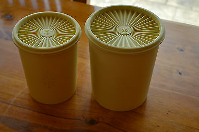 Tupperware Vintage/retro Canisters X 2