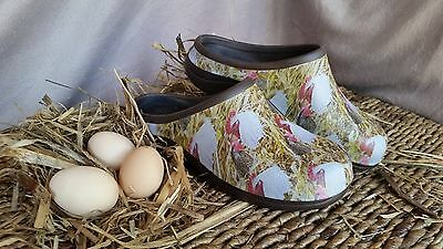 Chicken Print Ladies Shoes for Outdoors