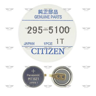 Citizen 295-51 295-5100 Eco-Drive Capacitor Battery Factory Sealed Genuine Part
