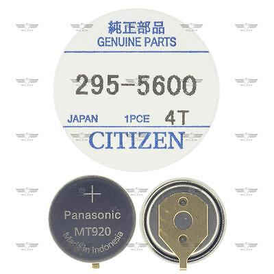 Citizen 295-56 295-5600 Eco-Drive Capacitor Battery Factory Sealed Genuine Part