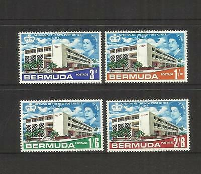 Bermuda ~ 1967 Opening New General Post Office (Mint Mh) Qe Ii