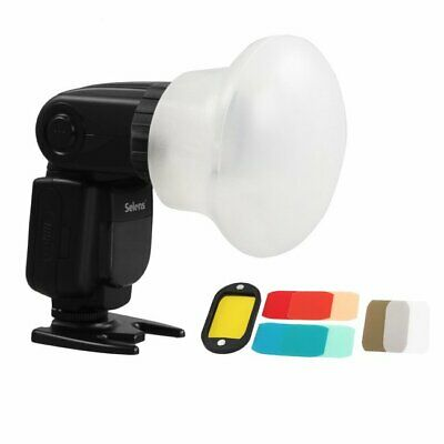 Pro  Magnetic Flash Modifier Sphere Diffuser Filter Gel Fr Canon YongNuo Flash