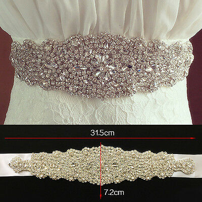 Hot Sale Bridal Belt Sashes Beading Sequined Wedding Bridal Accessories Stock