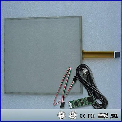 "17inch 355x288mm 5Wire Resistive Touch Screen Panel USB kit for 17"" monitor"