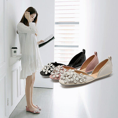 Lace white Bridal flats low high heel pump size ivory crystal Wedding shoes