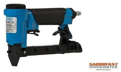 Fasco F1B 7C-16 71 Type Fine Wire Upholstery Pneumatic Air Stapler 6-16Mm