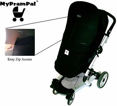 DreamShade® UV Snooze Sleep Nap Blackout Shade Compatible with QUINNY Buggy Pram