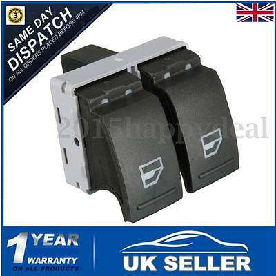 Electric Window Double Switch Front Right For VW Transporter T5 T6 Caravelle UK
