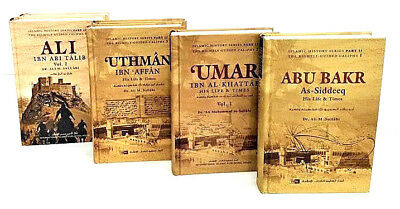 S. OFFER:The Four Caliphs Collection: Abu Bakr, Umar, Uthman & Ali (RA) -IIPH-HB