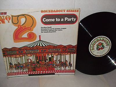 Roundabout Series Come To A Party No 2 1969 Musical Bumps/looby Loo Ex Vinyl Lp