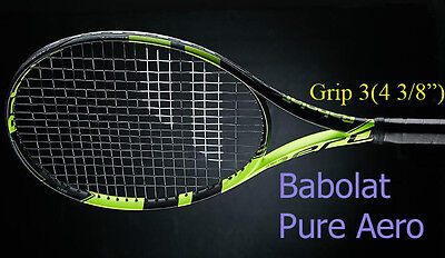 Babolat Pure Aero Tennis Racquet Grip 3(4 3/8) New Racket Free Shipping Strung