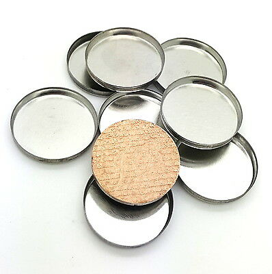 Magnetic Cosmetic Tin Pans 26mm for pressed makeup, eyeshadows & lipsticks