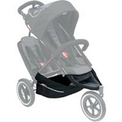 Brand new Phil and teds Sport basket and footwell in black and grey