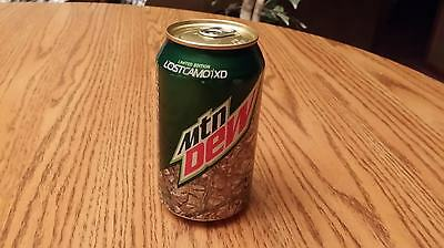 """Mountain Dew """"Lost Camo/XD"""" Full Can (Limited Edition)"""