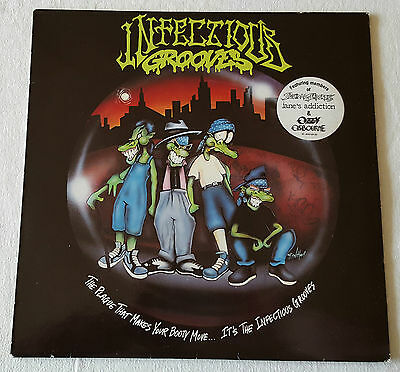 Infectious Grooves – The Plague That Makes Your Booty Move LP 1991 First Press