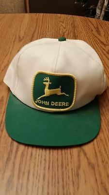 "Vintage John Deere Hat ""Classic Green and Yellow Deere Logo"""