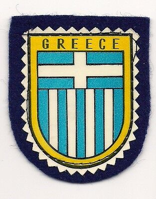 Country Of Greece  Souvenir Patch