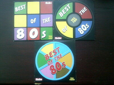 Best Of The 80s Volumes 1, 2 and 3 CD