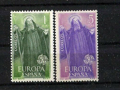 Spain Stamps - 1965 Europa Set Of 2 In Mint Condition